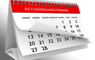 Hartz 4 Auszahlung - ALG II Zahlungskalender