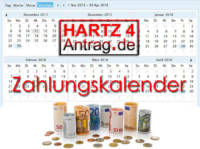Hartz 4 Auszahlung - Die ALG 2 Auszahlungstermine