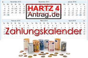 Auszahlungstermine für Hartz 4 - Arbeitslosengeld 2