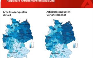 Statistik Arbeitslosenquote - Regional