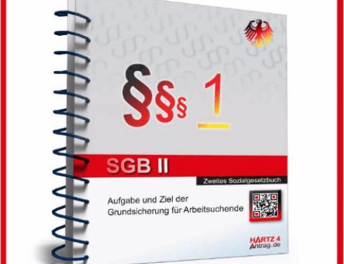 § 1 SGB II – Aufgabe und Ziel der Grundsicherung