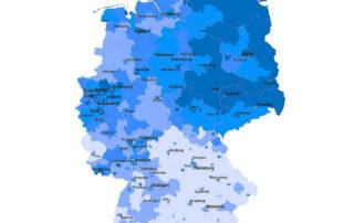 Infografik - Anteil der Hartz 4 Empfänger in Deutschland