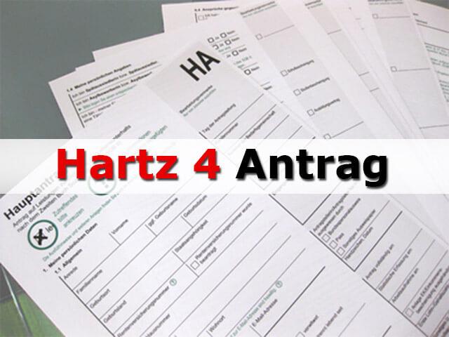Hartz 4 Antrag und Formulare für das Arbeitslosengeld 2