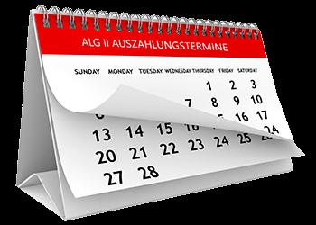 Hartz 4 Auszahlung - ALG II Zahlungskalender 2