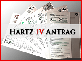 Hartz 4 Antrag - Arbeitslosengeld 2